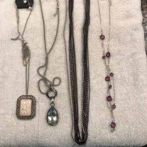 Long Paparazzi necklace bundle